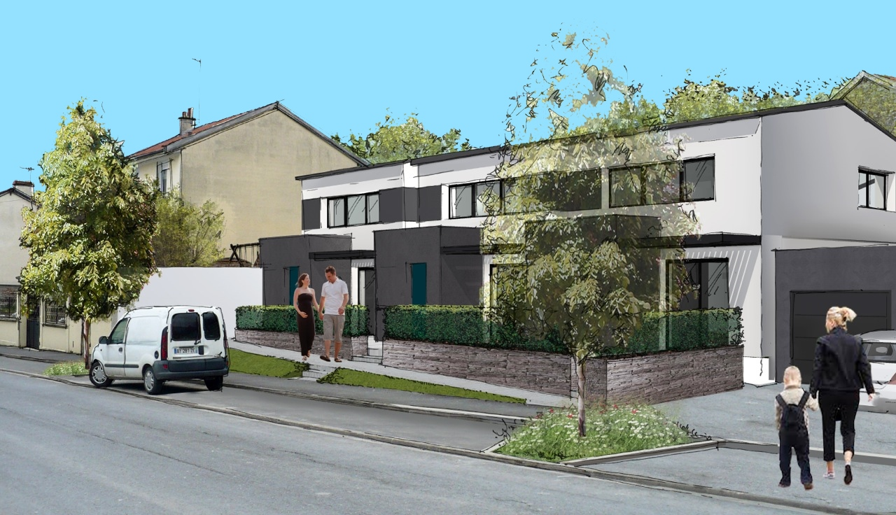 Constructeur maison witry les reims maison moderne for Constructeur maison reims
