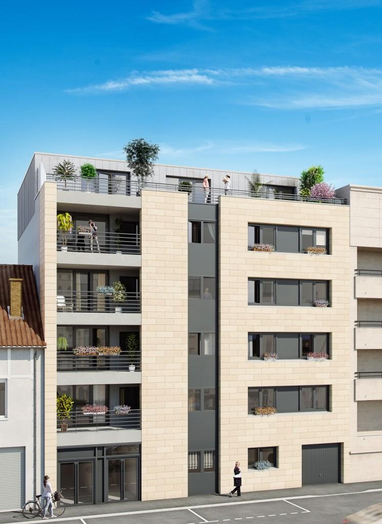 Résidence proche du centre ville de Reims, composées de plusieurs appartements
