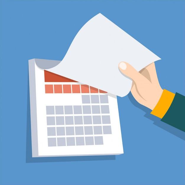 Vos prochaines échéances administratives 2018